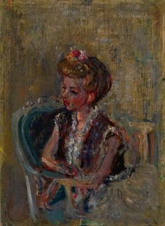 Терешкович К. А. Портрет жены