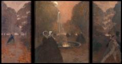 Нилус П. А. У фонтана. (триптих)