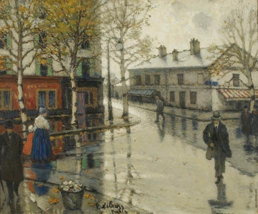 Нилус П. А. После дождя. (Городской пейзаж)