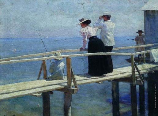 Нилус П. А. На мостике. Лето