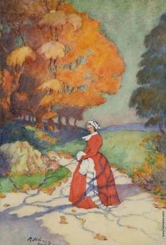 Нилус П. А. Дама в красном