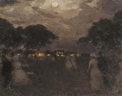 Нилус П. А. Вечерняя прогулка
