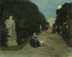 Нилус П. А. В парке