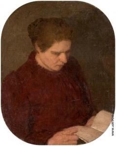 Нилус П. А. Женский портрет