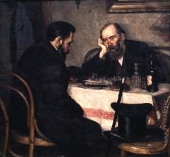 Нилус П. А. Встреча друзей