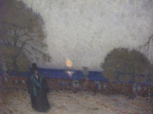 Нилус П. А. Поэт ночью