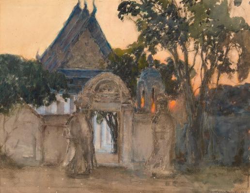 Калмыков И. Л. У храма
