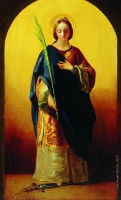 Бруни Ф. А. Святая великомученица Екатерина