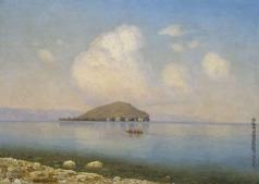 Башинджагян Г. З. Озеро Севан в летний день