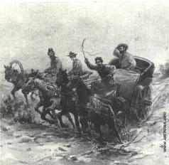 Апсит А. П. Иллюстрация к рассказу А.П. Чехова «На подводе»