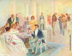 Апсит А. П. Иллюстрация к роману Л.Н. Толстого «Война и мир»