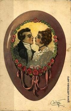 Апсит А. П. Пасхальная открытка