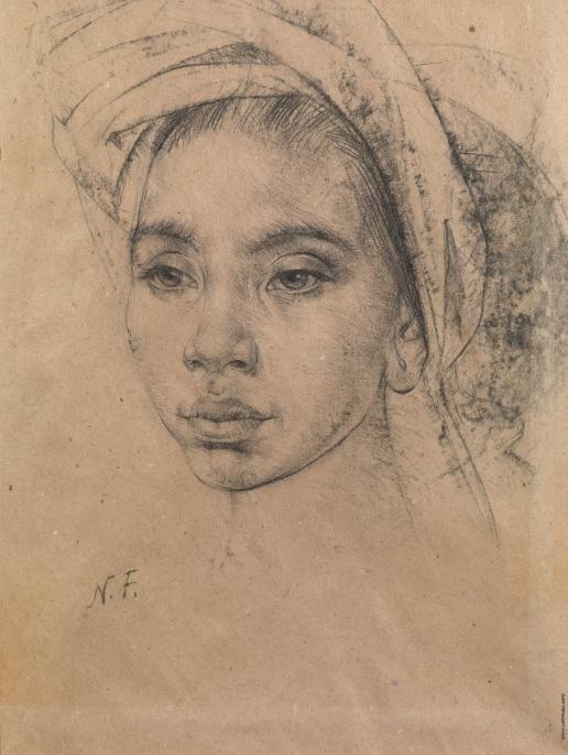 Фешин Н. И. Балийская девушка