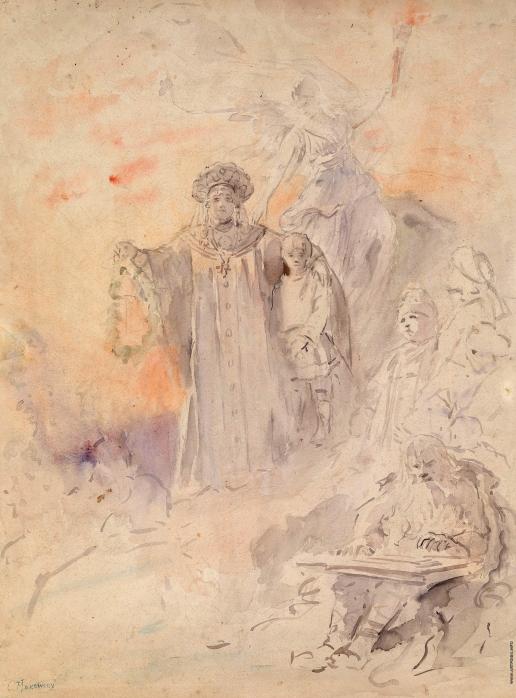 Маковский К. Е. Иллюстрация