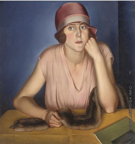 Фрешкоп Л. И. Портрет жены художника