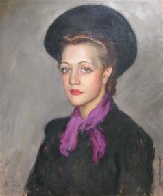 Фрешкоп Л. И. Женщина в шляпе