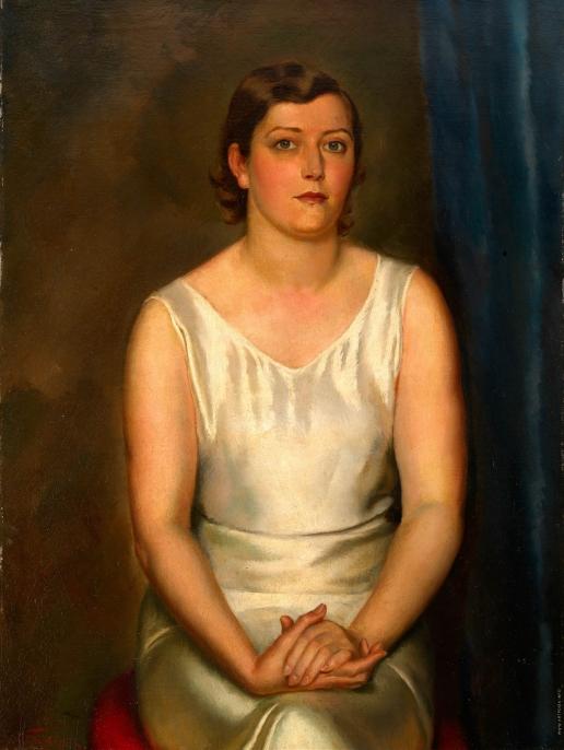 Фрешкоп Л. И. Портрет женщины