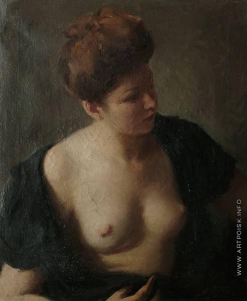 Фрешкоп Л. И. Портрет полуобнаженной женщины