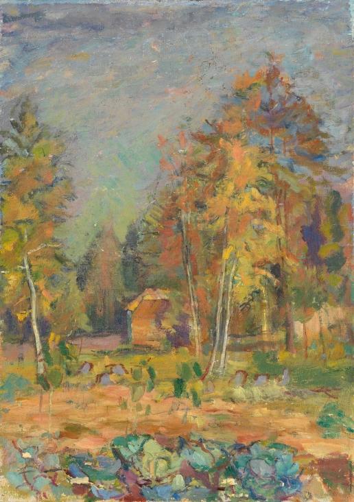 Соколов П. Е. Осенний пейзаж