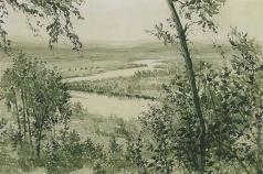 Верейский Г. С. Пойма реки
