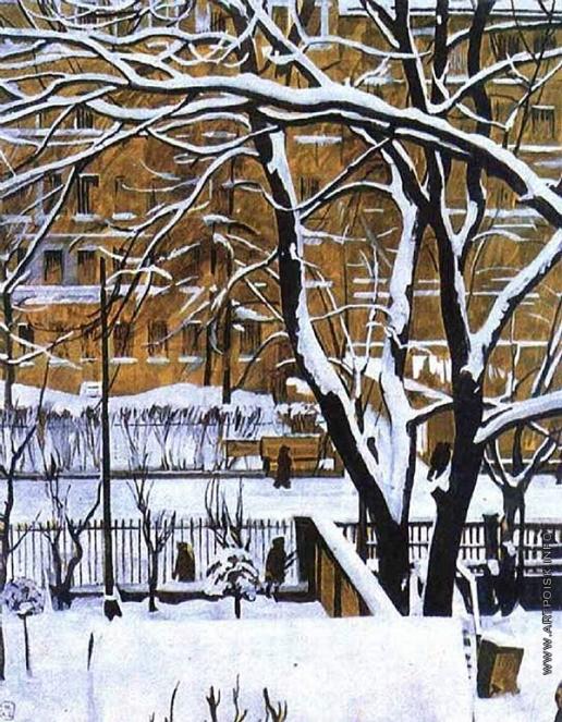 Верейский Г. С. Зимний пейзаж