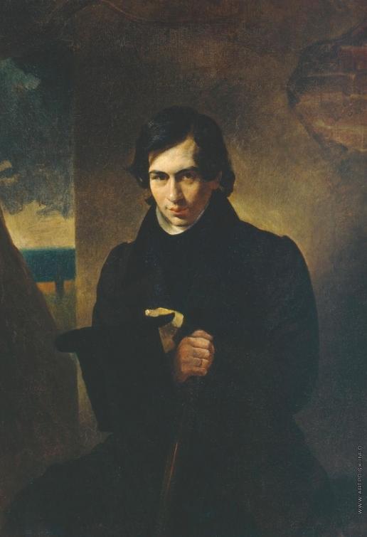 Брюллов К. П. Портрет писателя Н.В.Кукольника