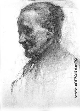Верейский Г. С. Портрет пожилой женщины
