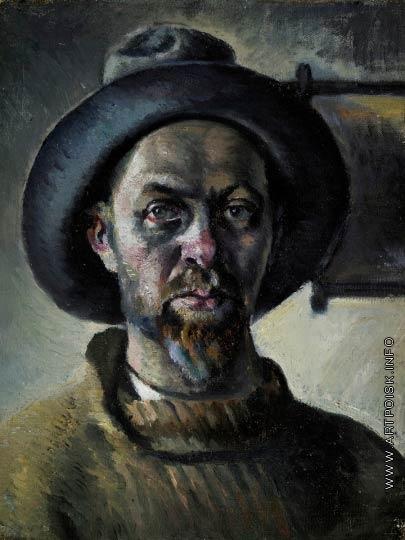 Зефиров К. К. Автопортрет в шляпе