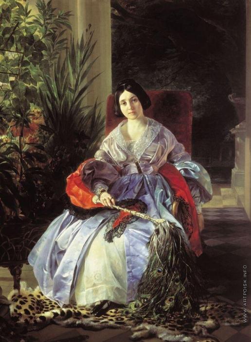 Брюллов К. П. Портрет светлейшей княгини Елизаветы Павловны Салтыковой