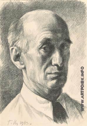 Верейский Г. С. Автопортрет