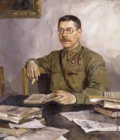Серов В. А. Портрет В.М. Саянова