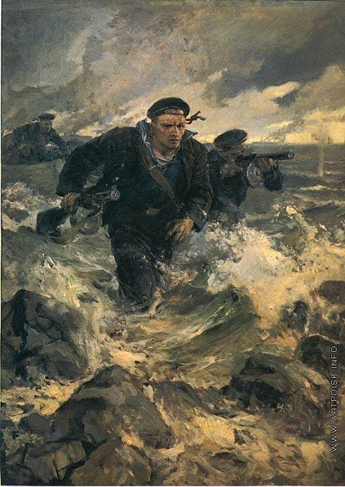 Серов В. А. Балтийский десант