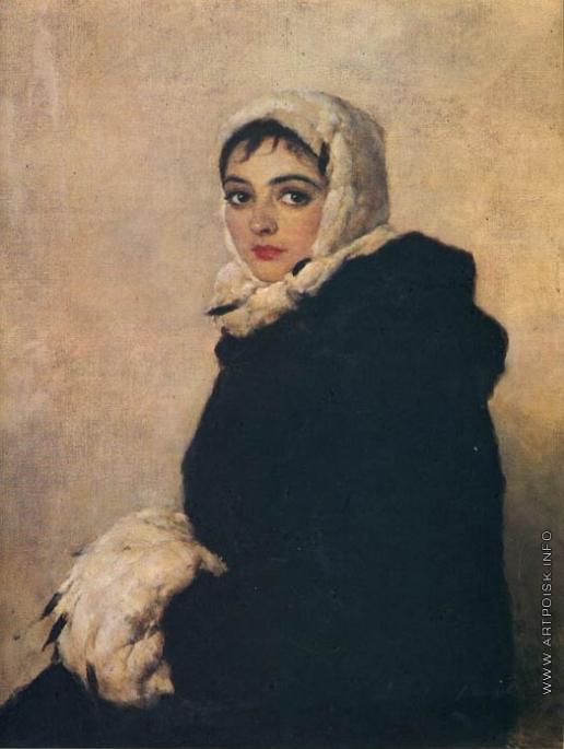 Серов В. А. Портрет балерины Красношеевой
