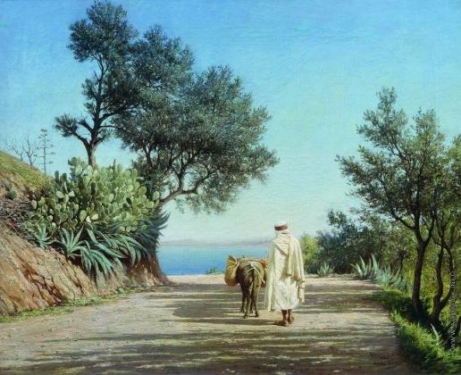 Брюллов П. А. Дорога к морю. Алжир