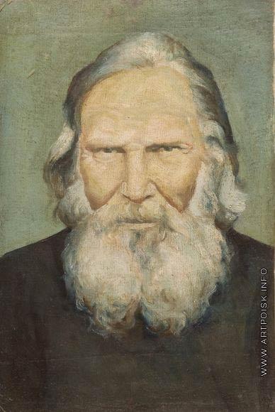 Серов В. А. Портрет Ильи Тимофеевича Успенского, деда художника