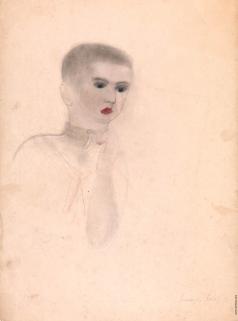 Лабас А. А. Портрет мальчика