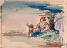 Древин А. Д. Мать и дитя