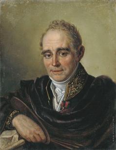 Бугаевский-Благодарный И. В. Портрет художника В.Л. Боровиковского