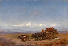 Филиппов К. Н. Сельская кавказская сцена