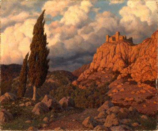 Шультце И. Ф. Горный пейзаж