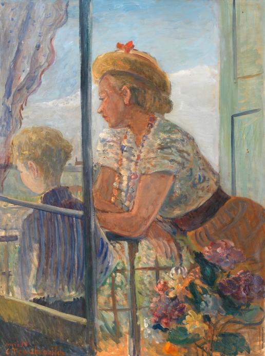 Терешкович К. А. На балконе