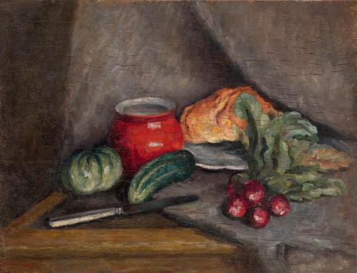 Машков И. И. Натюрморт с овощами