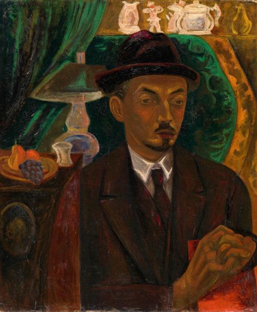Барт В. С. Портрет мужчины в интерьере