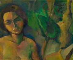 Эпштейн Е. И. Женский портрет