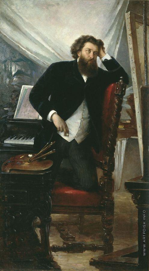 Буров Ф. Е. Портрет художника К.Н.Воронова