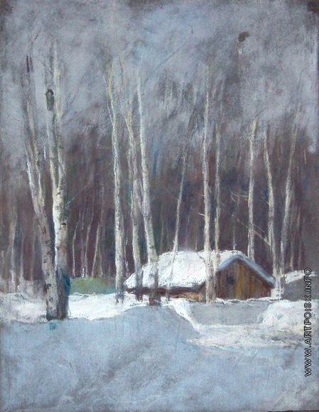 Серов В. А. Зимний пейзаж