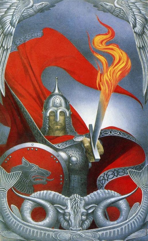 Васильев К. А. Огненный меч