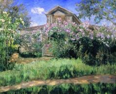 Бялыницкий-Бируля В. К. Дача в саду
