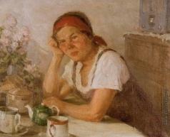 Первухин К. С. За чайным столом