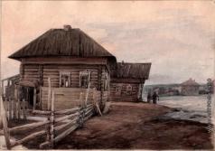 Первухин К. С. Село Черновское, ул. Кирова